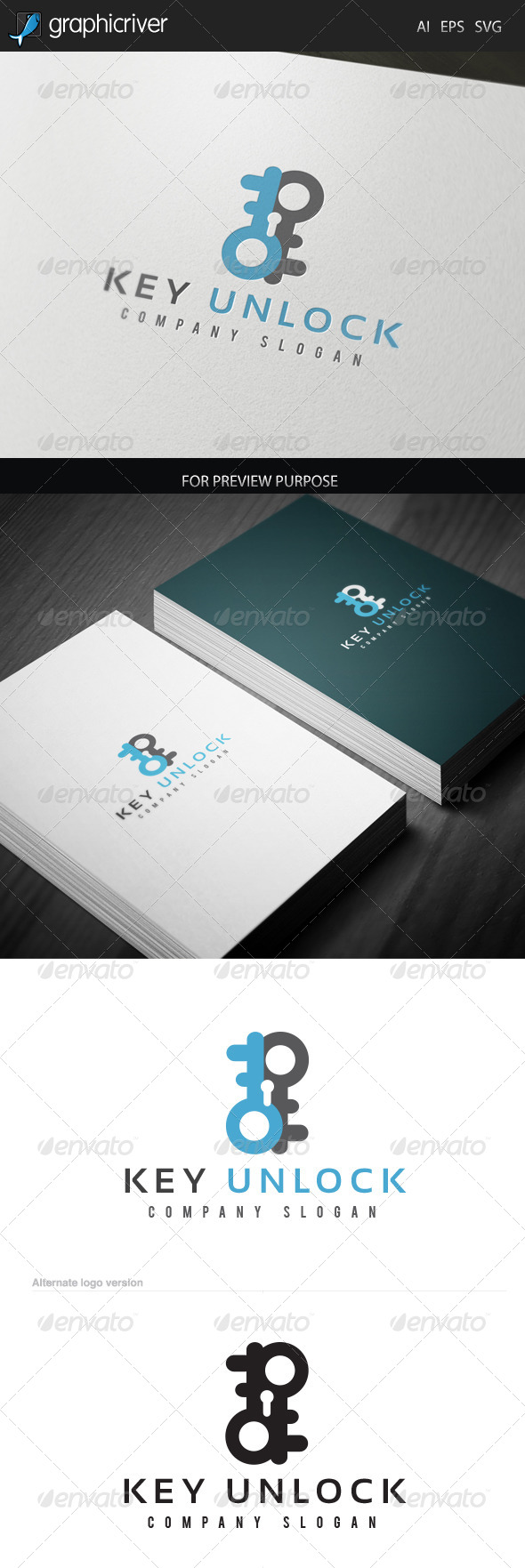 GraphicRiver Key Unlock Logo 6571849