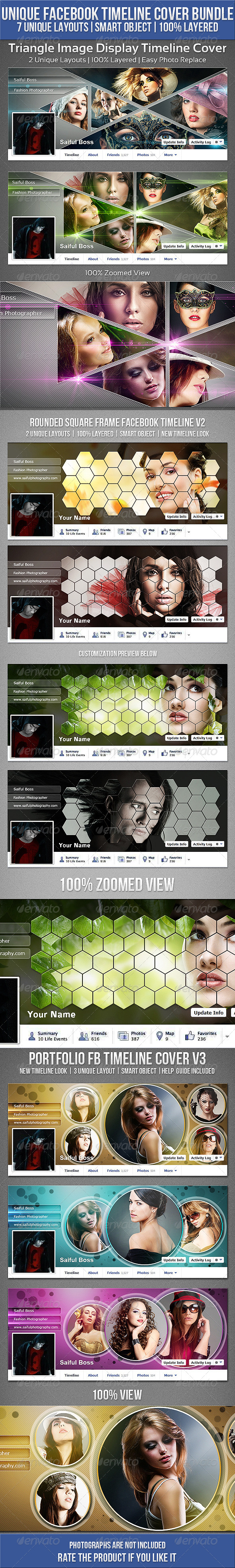 GraphicRiver Unique Facebook Timeline Cover Bundle 6572447