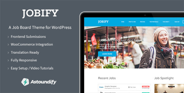 Jobify - WordPress Job Board Theme - Directory & Listings Corporate