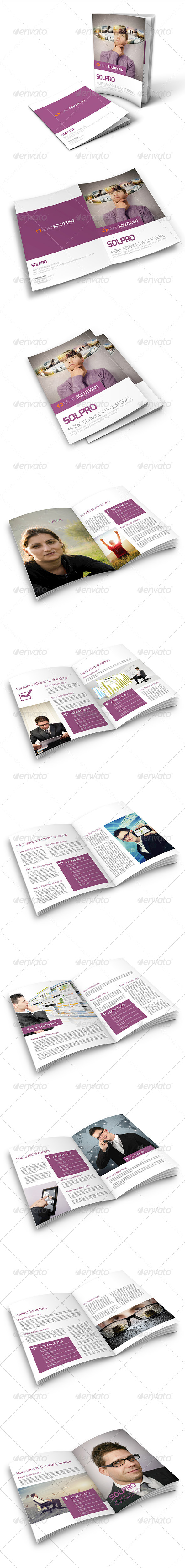 GraphicRiver Clean Corporate Service Brochure 6572989