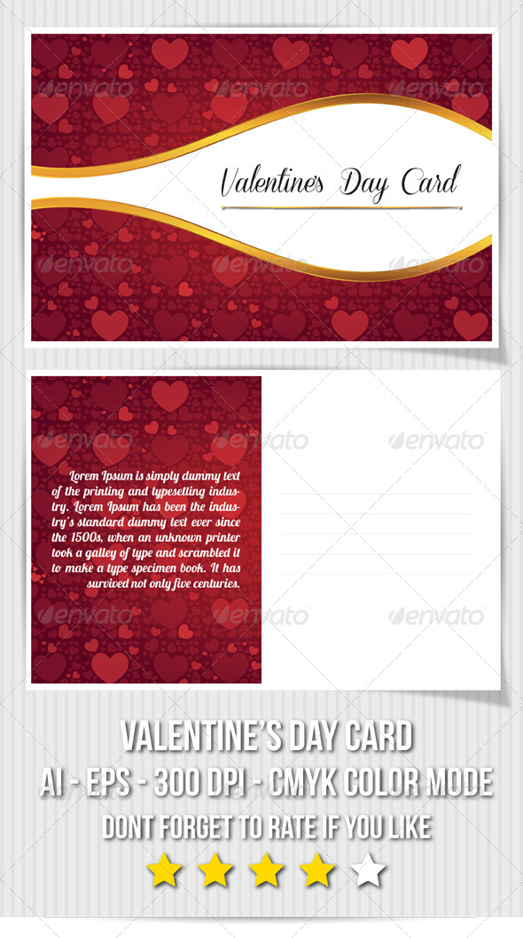 GraphicRiver Valentine s Day Card 6573185