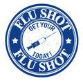 Flu shot stamp - PhotoDune Item for Sale