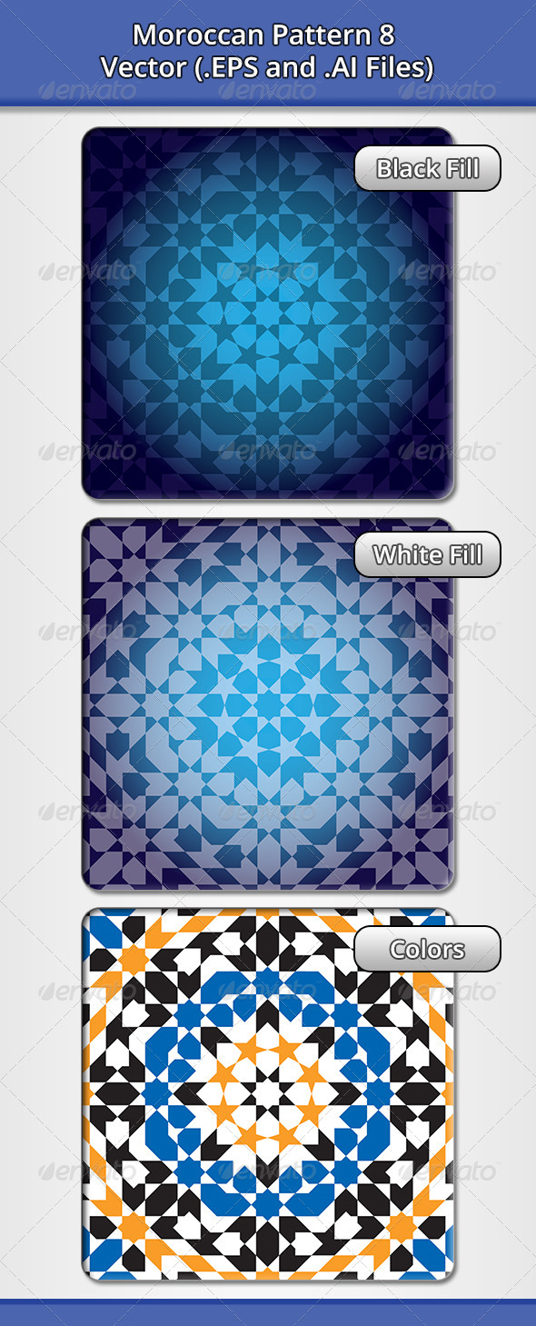 Moroccan Pattern 8 - Patterns Decorative