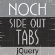 Noch jQuery - Side Out Tabs - CodeCanyon Item for Sale