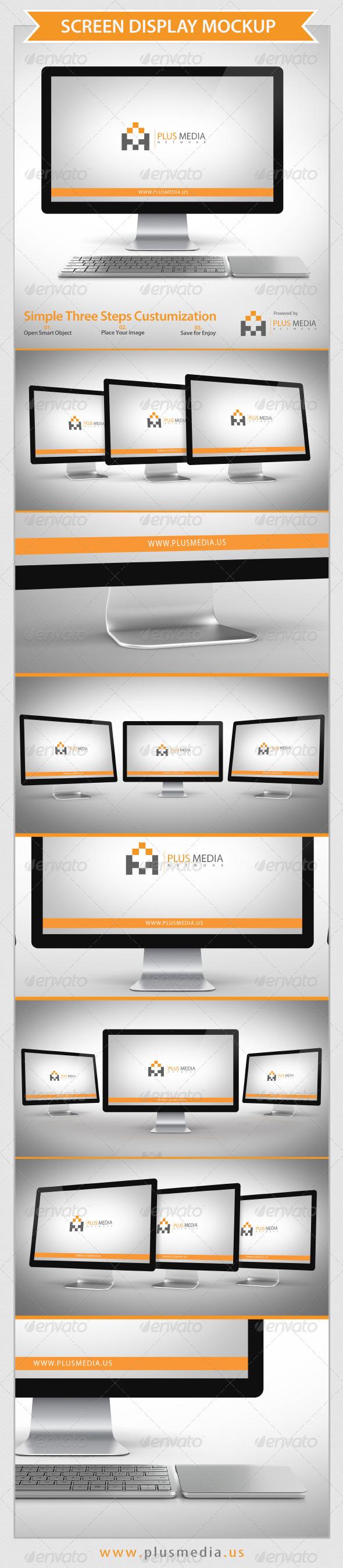 GraphicRiver Screen Display Mockup 6573446