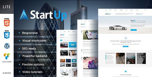 ThemeForest StartUp WordPress Theme 6573488