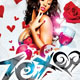 Zexo Valentines Flyer Template - GraphicRiver Item for Sale