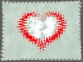 Valentine Background With Border - PhotoDune Item for Sale