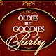 Oldies but Goodies Party Flyer Template  - GraphicRiver Item for Sale