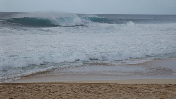 North Shore Oahu Surf Break