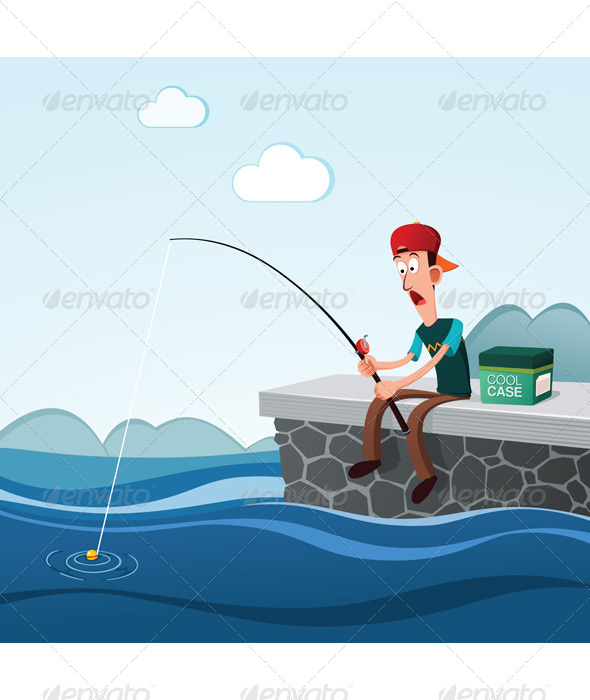 GraphicRiver Fishing in the Dock 6574418