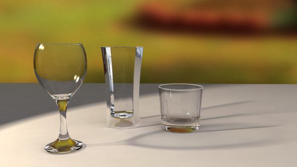 3DOcean Glass Set 6574421