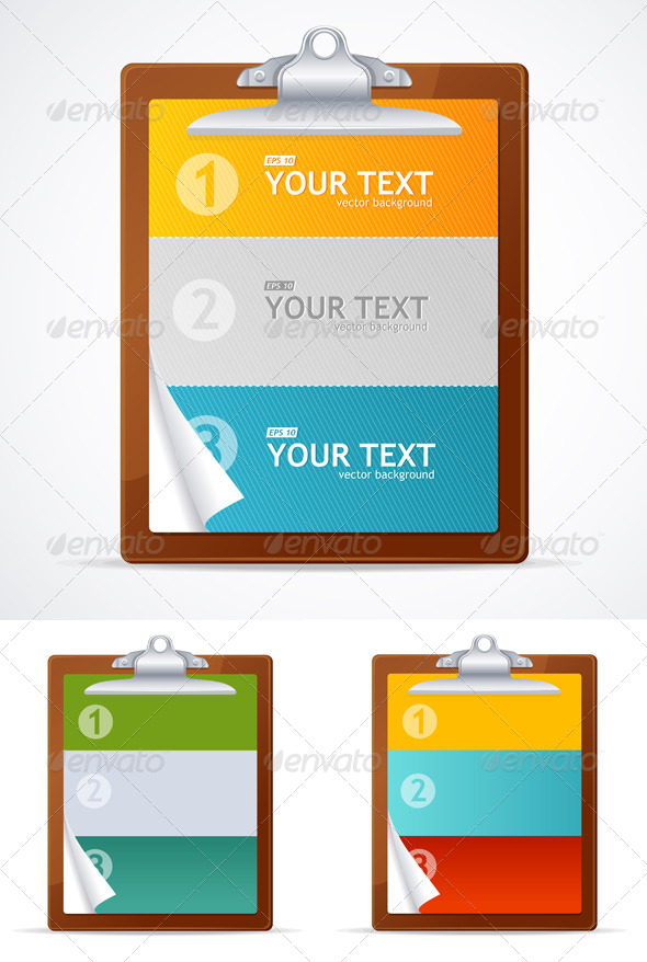 GraphicRiver Blank Clipboard Set 6574510