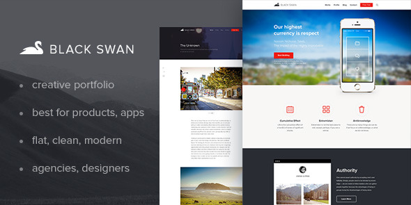 The Black Swan Multipurpose Template