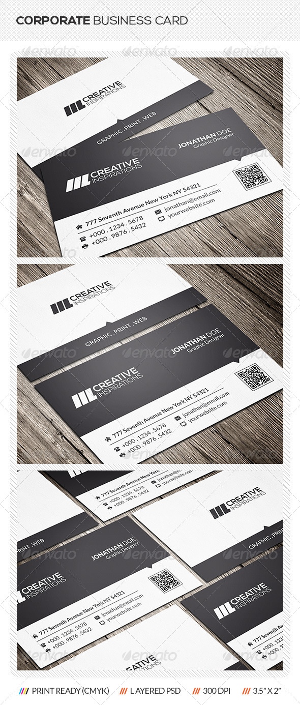 GraphicRiver Clean Business Card 6574864
