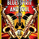 Blues and Soul Live Flyer Template - GraphicRiver Item for Sale