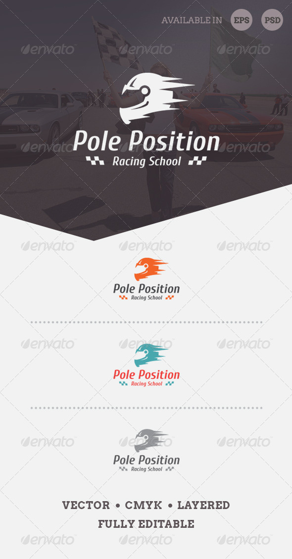 GraphicRiver Pole Position Logo Template 6576204