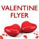 Vinyl Valentine Party Flyer - GraphicRiver Item for Sale