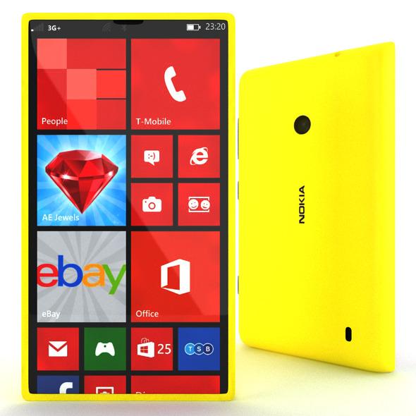 3DOcean Nokia Lumia 520 6486088