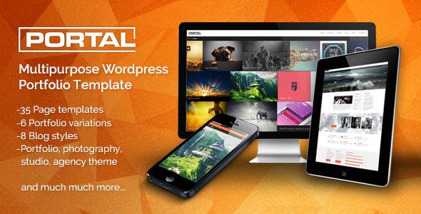 ThemeForest Portal Multipurpose Wordpress Portfolio Template 6419291