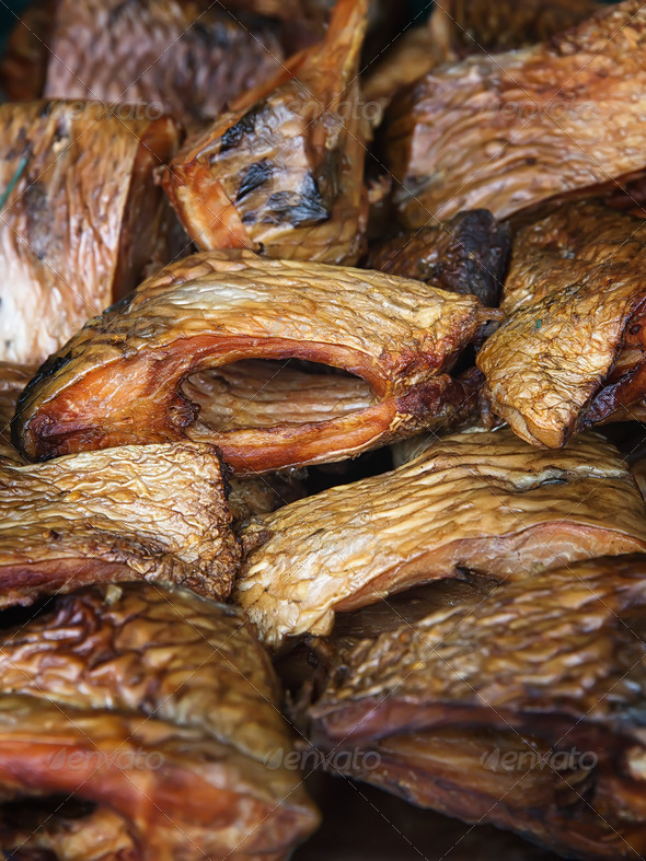 Smoked fish - Stock Photo - Images
