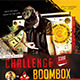 Challenge Boombox Flyer Template  - GraphicRiver Item for Sale