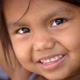 Primitive Native Girl Smiles