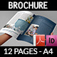 Corporate Brochure Template Vol.19 - 12 Pages - GraphicRiver Item for Sale