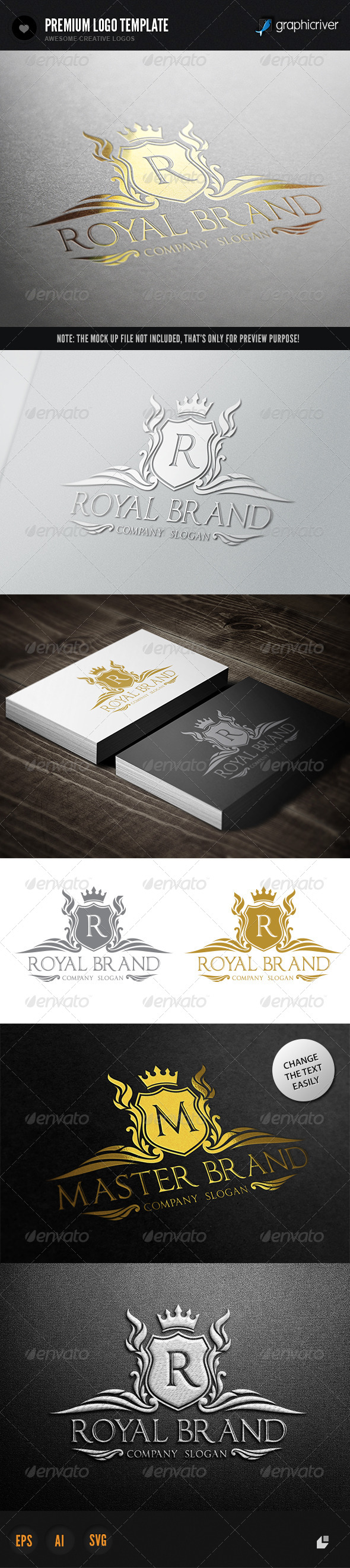 GraphicRiver Royal Brand I 6578279