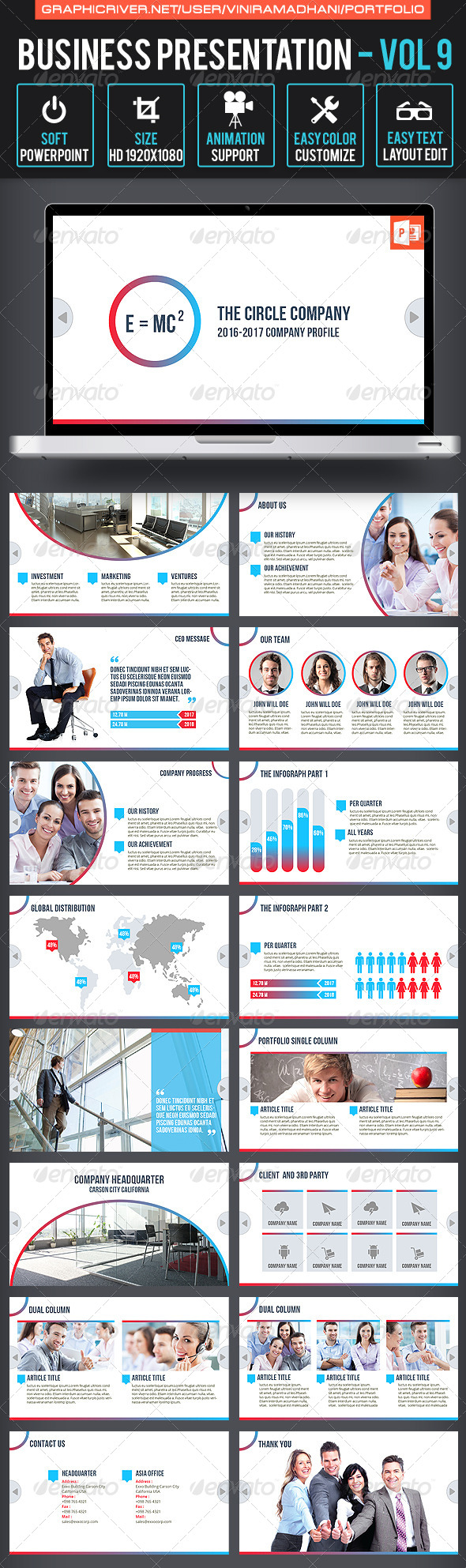 GraphicRiver Business Presentation Volume 9 6578879
