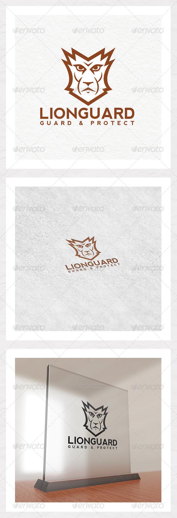 GraphicRiver Lion Guard Logo Template 6578943