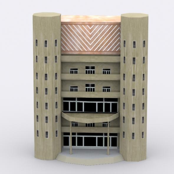 3DOcean Building 6578961