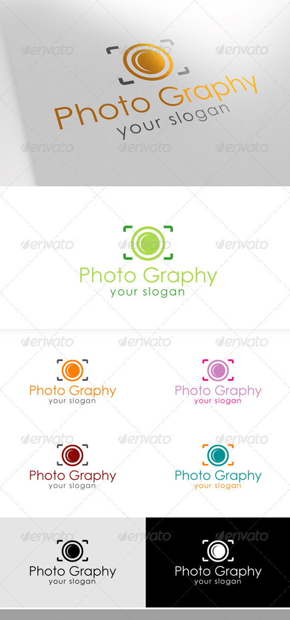 GraphicRiver Photography Logo 6579053