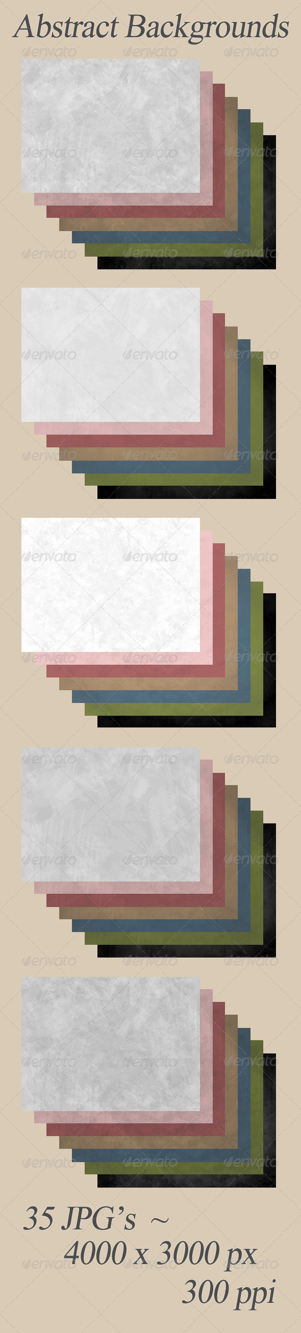 GraphicRiver Subtle Abstract Background Textures 6579801