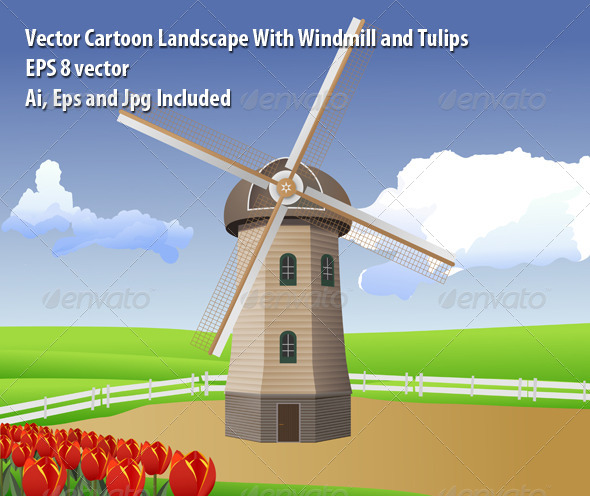 GraphicRiver Windmill 6579913