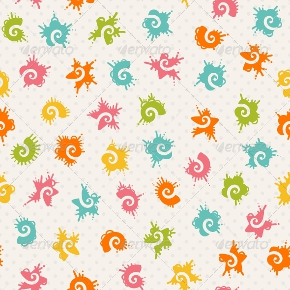 GraphicRiver Seamless Baby Pattern 6579950