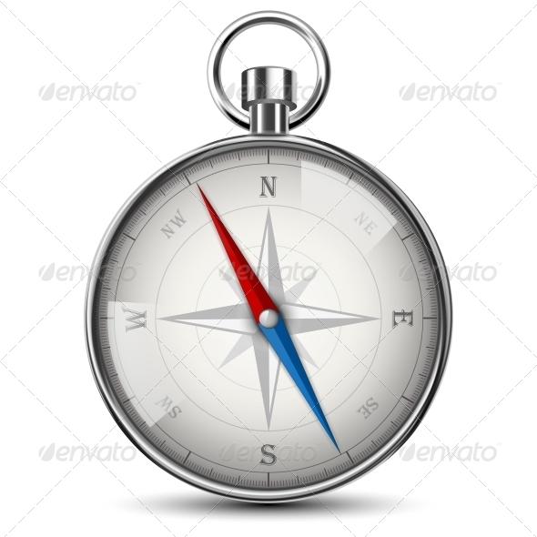 GraphicRiver Realistic Compass 6580019