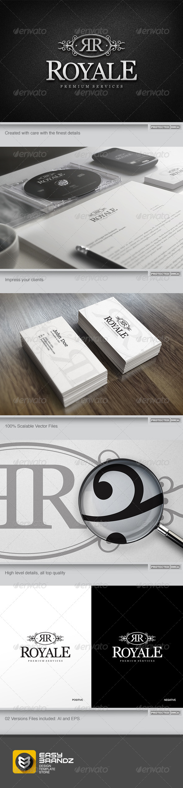 GraphicRiver Royale Logo Template 6064831