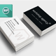 Simple Clean Corporate Business Card Vol. 2
