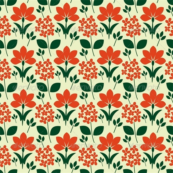 GraphicRiver Floral Pattern 6581443