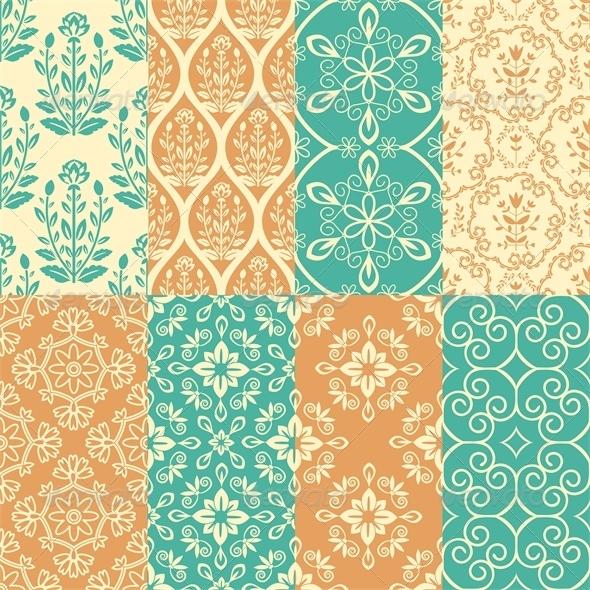 GraphicRiver Patterns Set 6581480