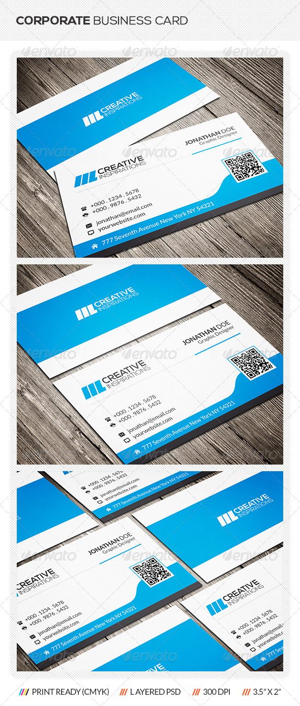 GraphicRiver Corporate Business Card 6581491