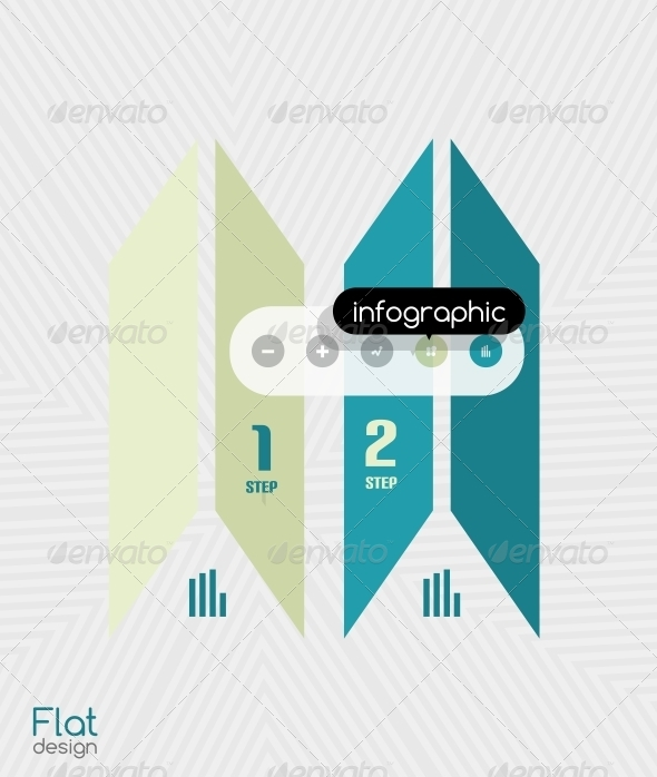 GraphicRiver Geometric Infographic Stripes Modern Flat Design 6581538