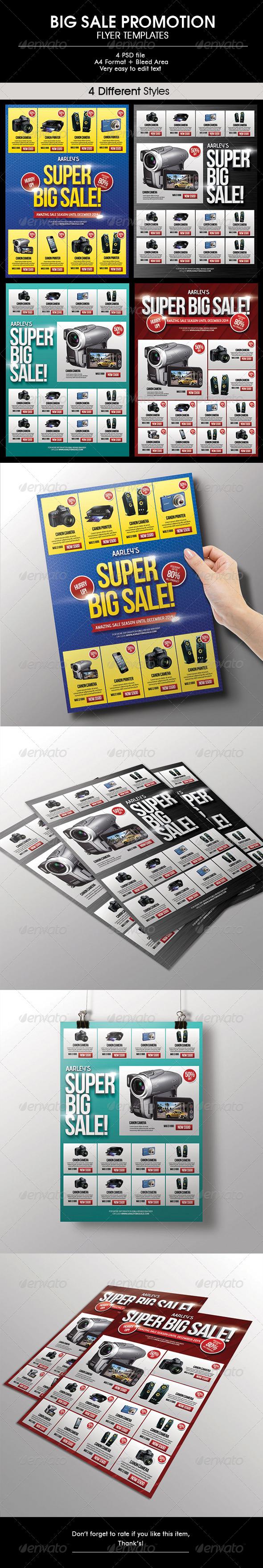 GraphicRiver Big Sale Promotion Flyer 6581555