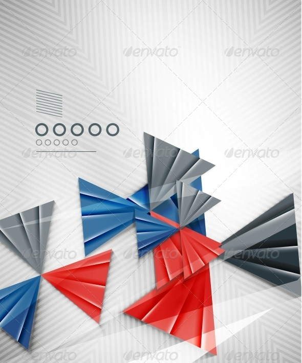 GraphicRiver Geometric Shape Abstract Triangle Background 6581568