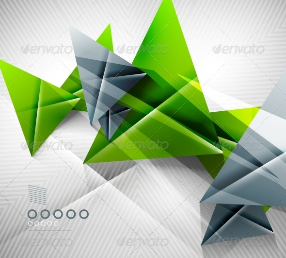 GraphicRiver Geometric Shape Abstract Triangle Background 6581570