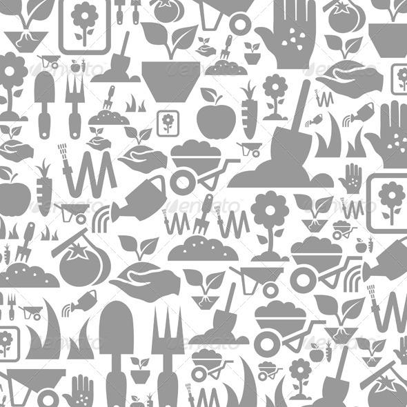 GraphicRiver Garden a Background 6581717