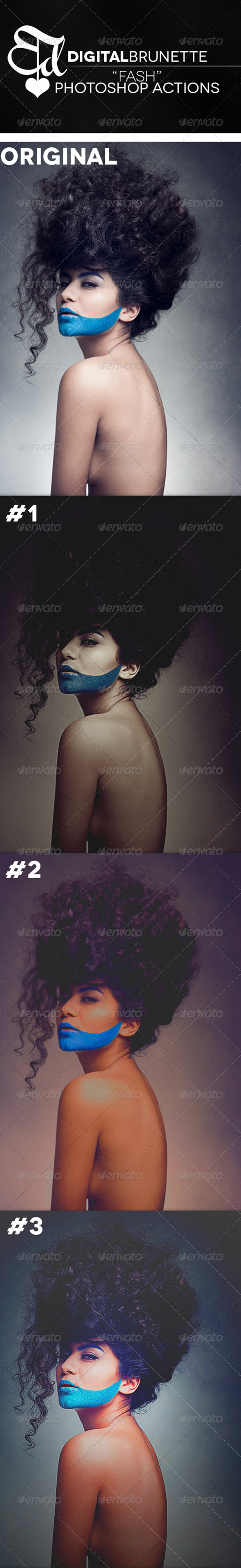 GraphicRiver FASH Photography Effects 6582956