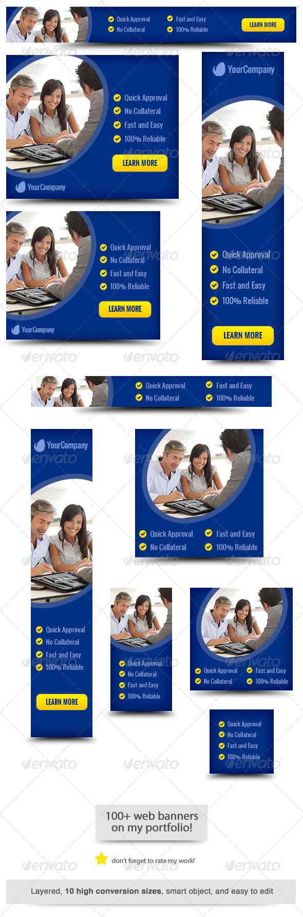 GraphicRiver Business Loan Web Banner Design 6583025