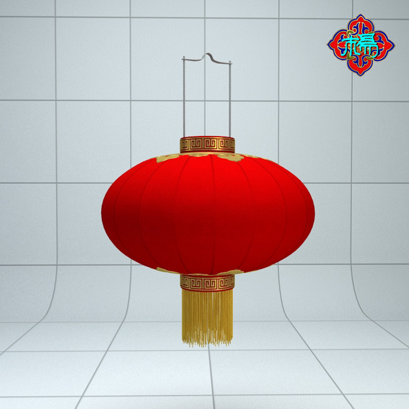 Chinese traditional Lantern B - 3DOcean Item for Sale